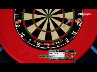 Simon Whitlock vs Ian White (World Matchplay 2015 / Round 2)