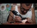 Erregiro creating Nicki Minaj custom Blythe doll
