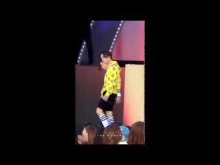 [FANCAM] 150709 Seventeen 'Adore U' at M Countdown in KwangJu (Vernon focus)