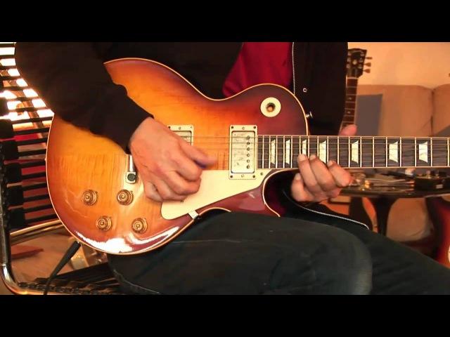 Gibson Les Paul Custom Shop 59er Billy Gibbons Signature Part1