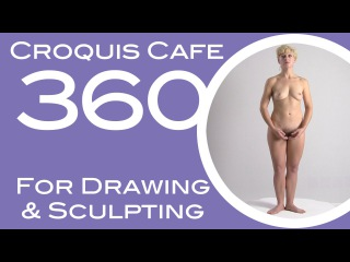 Croquis Cafe 360: Drawing & Sculpture Resource, Simone #12