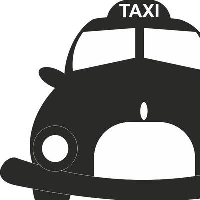 Картинки такси черное белое