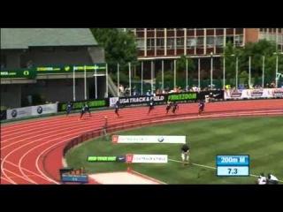 200m MEN Justin Gatlin  Eugene Diamond League 2015