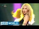 HyunA - Roll Deep Feat. Jung IllHoon of BTOB 현아 - 잘나가서 그래 Music Bank COMEBACK / 2015.08.21
