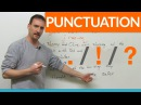 Learn Punctuation: period, exclamation mark, question mark