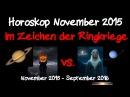 Horoskop November 2015 - Im Zeichen der Ringkriege - Saturn Neptun Quadrat bis September 2016