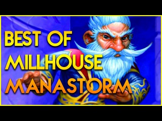 Hearthstone Best of Millhouse Manastorm! - Funny Plays Lucky Moments - Top Deck