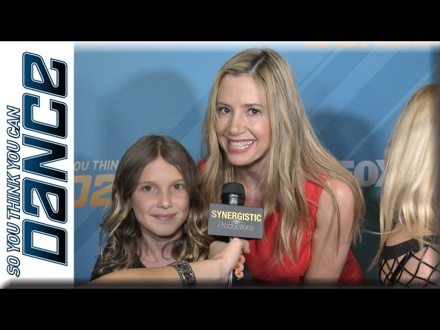 Christopher Backus Mira Sorvino Millie Bobby Brown Dance Intruders SYTYCD Season 11 Finale