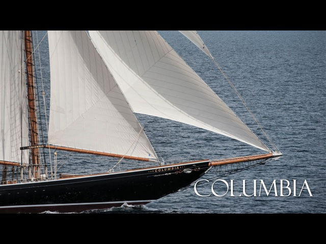 Columbia - 141' RacingFishing Schooner Yacht - Launch to Sea Trials