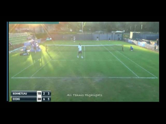 Ivan Dodig vs Julien Benneteau Highlights - ATP AEGON Open Nottingham 2016 Round 1