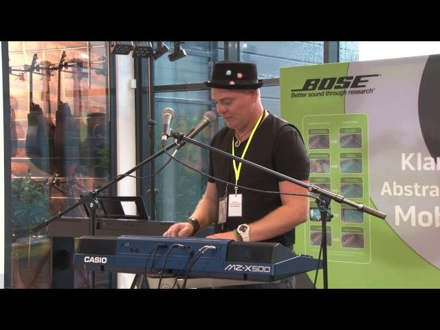 CASIO MZ X500 Keyboard Live Demo mit Ralph Maten MUSIC STORE Hausmesse