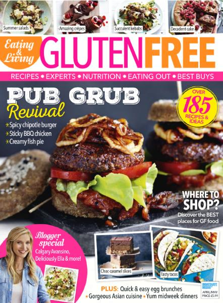 Eating Living Gluten Free April-May 2016