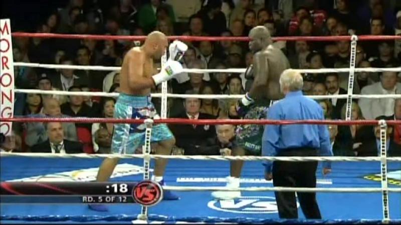 James Toney vs Fres Oquendo 13 12 2008