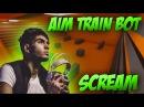 CS:GO   ScreaM playing Aim Train Bot [CSGO shooting training]