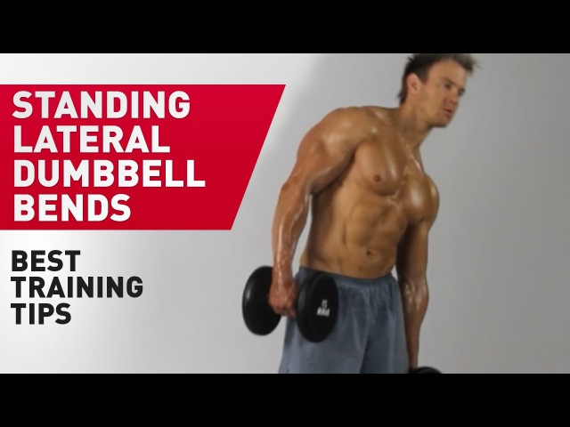 Standing Lateral Dumbbell Bends Technique FitABS Exercise Guide