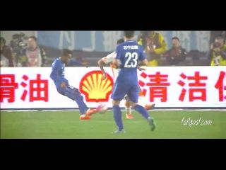 Alex Teixeira goal Ramirez AssistsJiangsu Suning VS Shandong Luneng