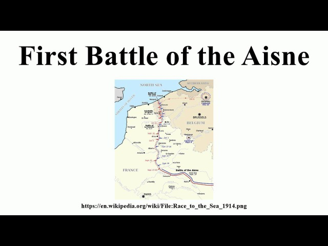 First Battle of the Aisne