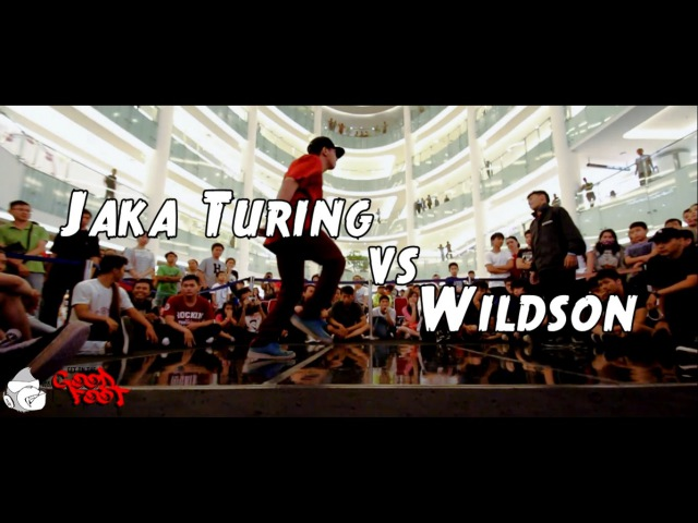 JAKA TURING vs WILDSON| SEMIFINAL BBOY | GET ON THE GOOD FOOT 2016 | A.P.E Films
