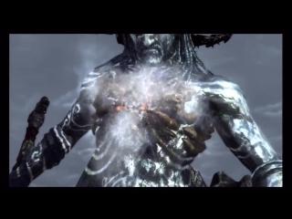 God of war 3 kratos vs poseidon boss battle (hd)
