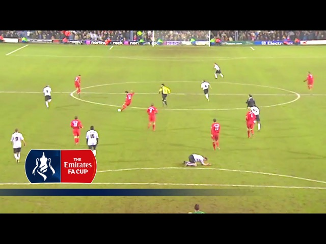 Xabi Alonsos classic 70 yards FA Cup goal v Luton (2006)   From The Archive