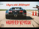 13yr old goes 200mph in Bugatti Veyron Shift S3ctor 1 2 Mile