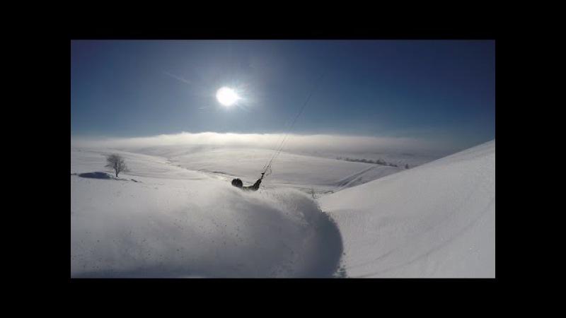 Nejlepsi Cesky Snowkiting 2016