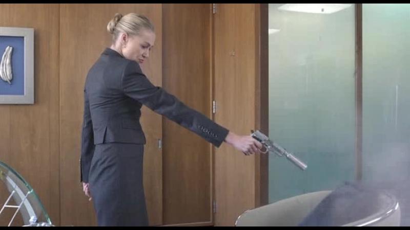 Давай еще Тэд 1x09 Вероника с пистолетом