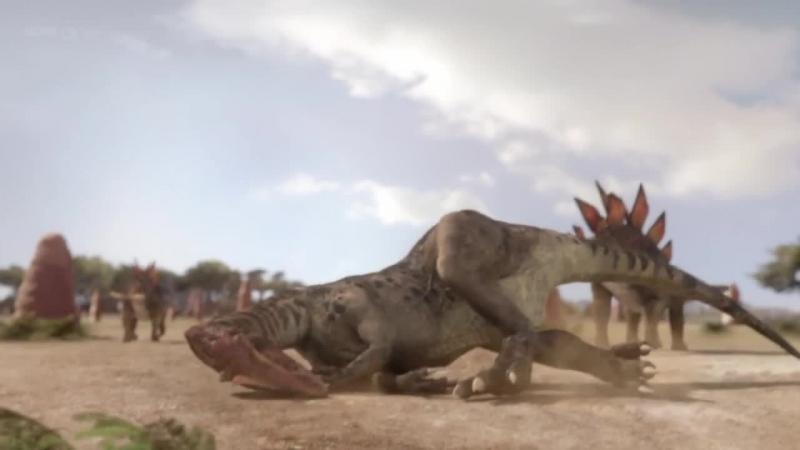BBC Планета динозавров Серия 4 Борьба за жизнь