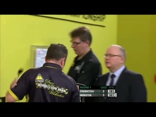 Robert Thornton vs Darren Webster (Players Championship Finals 2014 / Round 1)