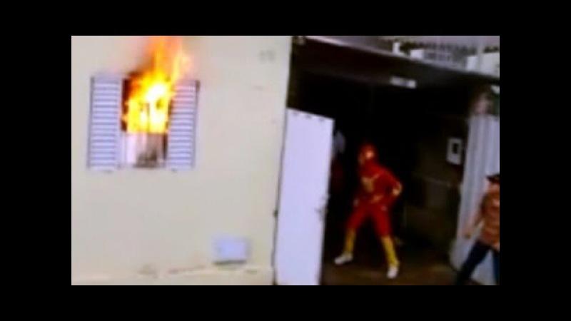 Trenzinho Carreta Furacão salvam família de incêndio em MG