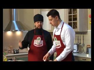 """Food-talk шоу """"ГастрономЪ""""( Владыка Ефрем.Гречневая каша с солёными огурцами ) (РИА  ..."""