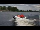 Лодка ПВХ от МНЕВ и К J SILVER 330 тест под мотором