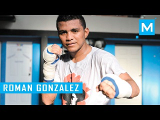 Roman Gonzalez Boxing Training | Muscle Madness