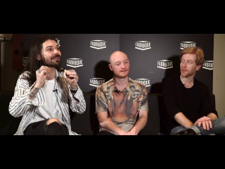 #WarnerSquad - Biffy Clyro interviewed by Max Pezzali