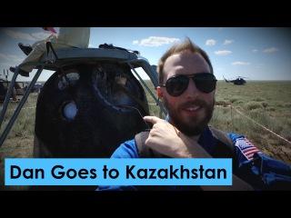 Россия. Ответ на санкции. Космический диалог. Встречаем прибывшую с МКС экспедицию с Dan Goes to Kazakhstan