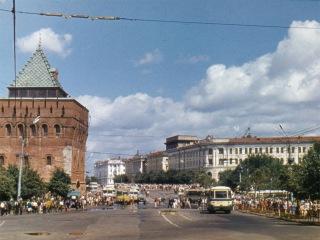 Город Горький около 1972 год / Gorky about 1972