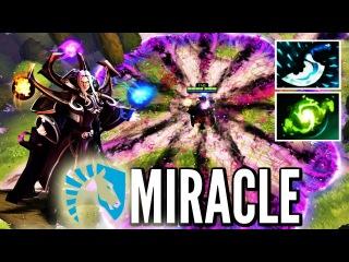 MIRACLE- Textbook Invoker vs. C9 Dota 2