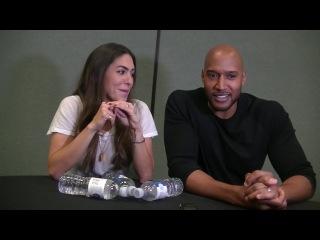 WonderCon 2017 Interview: Natalia Cordova-Buckley & Henry Simmons (Agents Of .)
