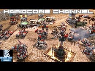 Command & Conquer 3 Tiberium Wars - Skirmish - Brutal AI - Epic Massive Battle =1=