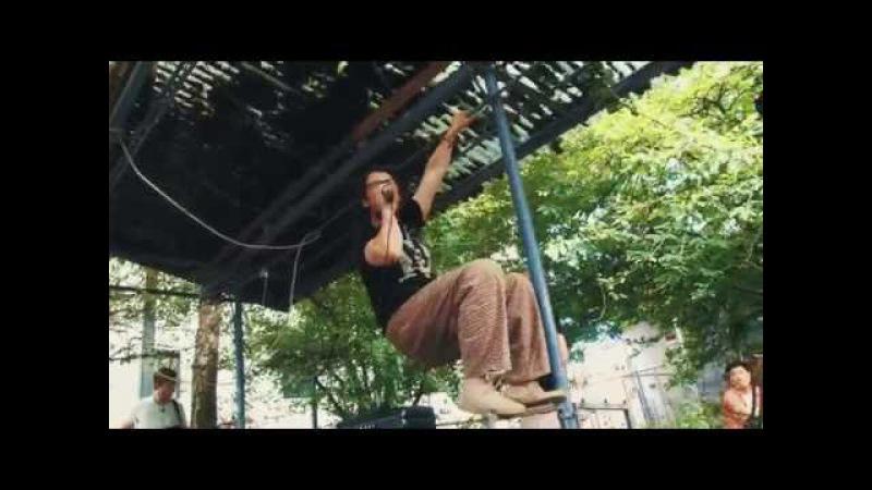 Arrington de Dionyso's Malaikat dan Singa at the CRTYRD Olympia