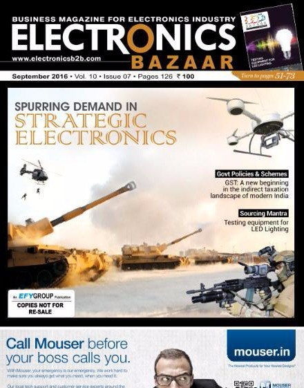 Electronics Bazaar - September 2016