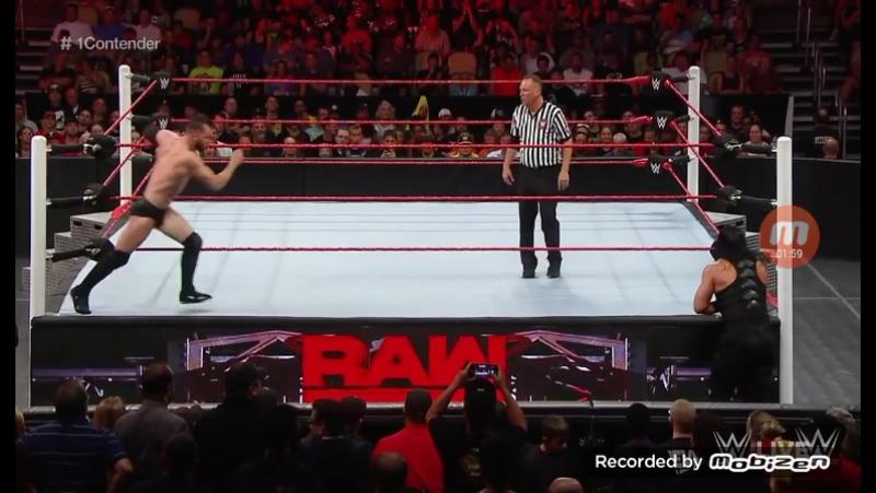 WWE RAW Finn Balol Vs Roman Reigns
