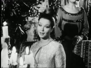 """Marina Vlady с сестрами поют русскую народную песню """"Ой, рябина кудрявая""""."""
