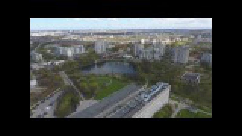 Калининград глазами дрона балтрайон