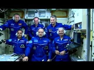 НаМеждународную космическую станцию прибыл новый экипаж. Новости. Первый канал