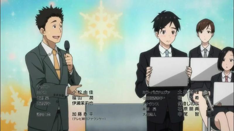 Yuri on Ice English Dub Yuuri's speech on love episode 5