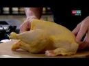 A tavola con Ramsay 109: Pollo arrosto farcito con ceci e insalatona