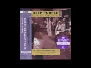 Deep Purple - Days May Come and Days May Go