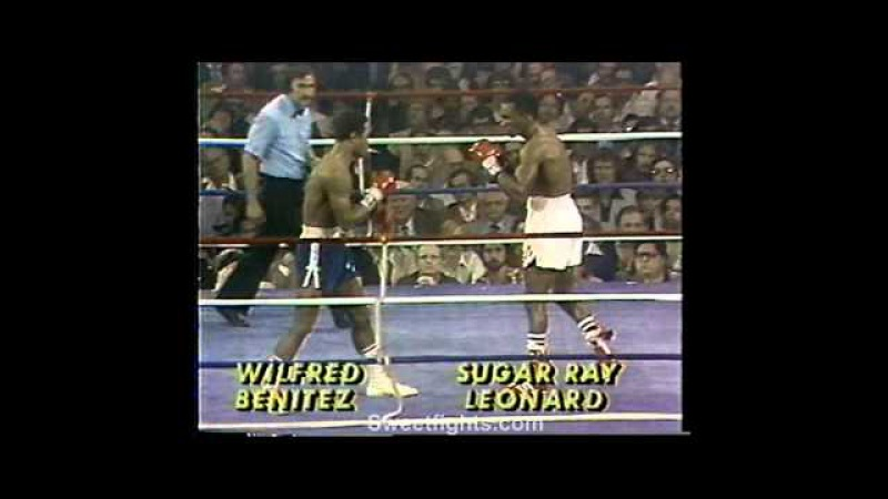 Sugar Ray Leonard fights technical KO's Wilfred Benitez KNOCK OUT смотреть онлайн без регистрации