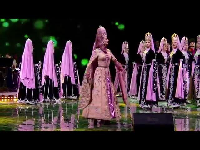 ансамбль Кабардинка княжеский танец Уэркъ къафэ исправленный монтаж